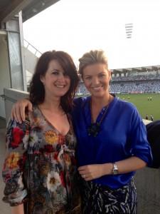 Gina with Rebecca Maddern