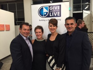 With GWYL Corporate Partnerships Manager Leigh Johnston and Jill